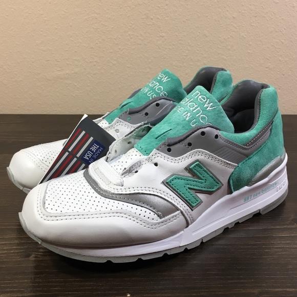 3b1bcab7e31 New Balance 997 Made in USA M997CMA Mint Green NWT